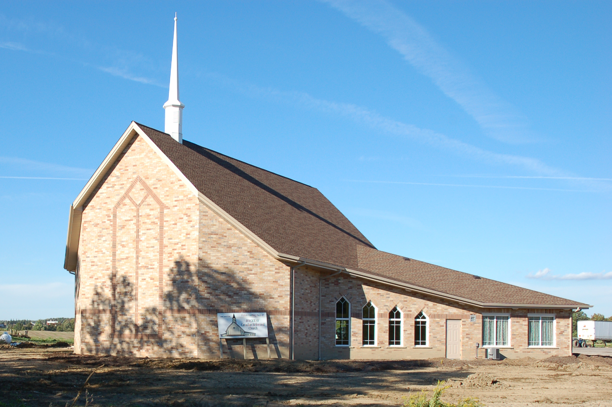 New Rockway Reformed Church - Back