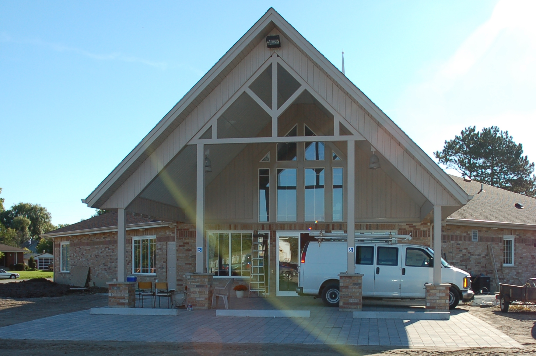 New Rockway Reformed Church - Front