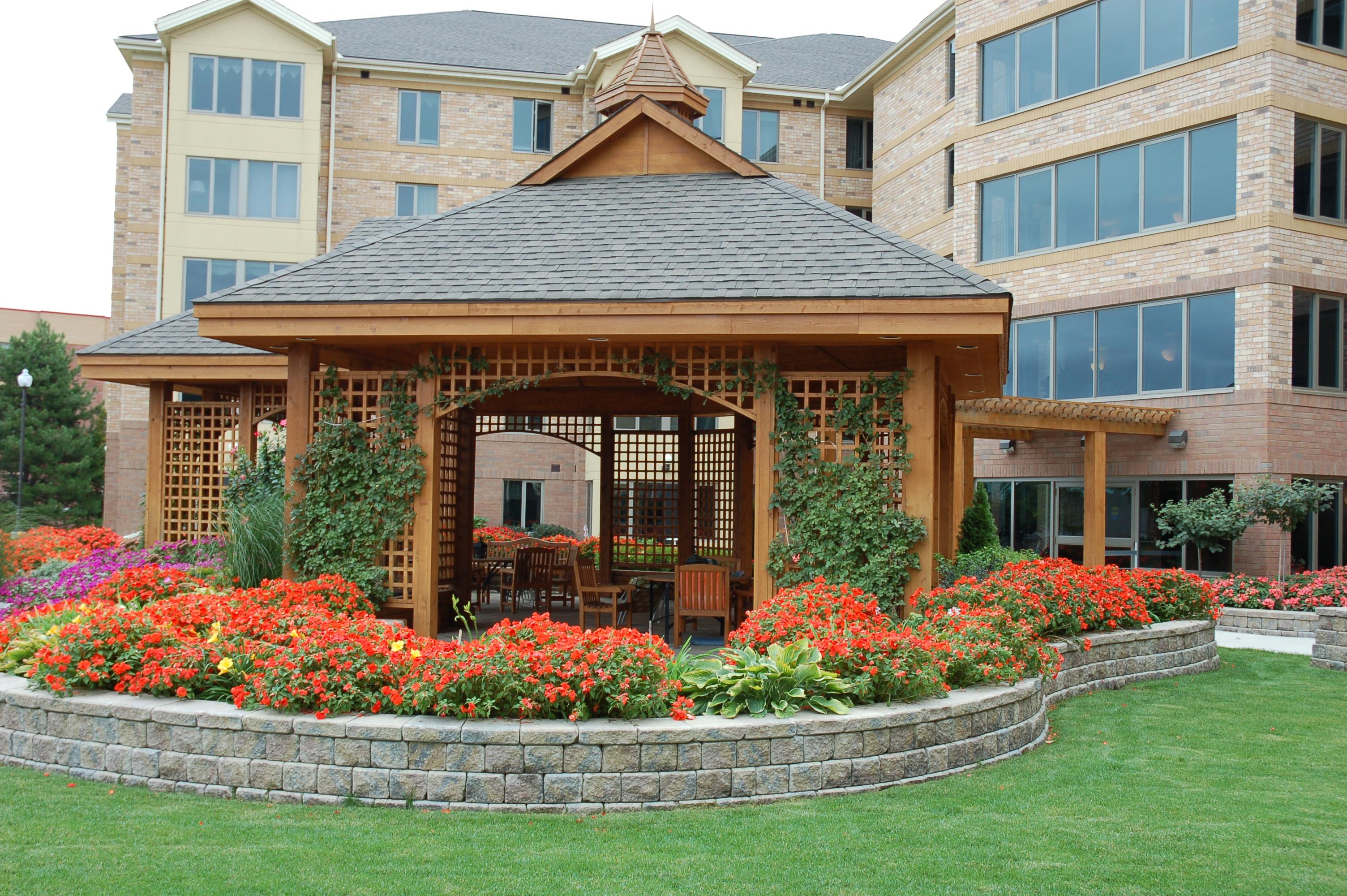 Shalom Evergreen Terrace Christian Living Complex - Back